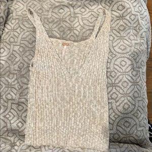 Free People sweater tank